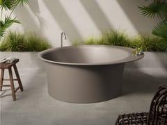 Vasca da bagno rotonda centro stanza in SharkCUP - REXA DESIGN