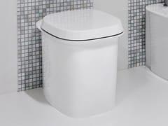 Wc in ceramica a pavimentoCUPOLA21 - ANTONIO LUPI DESIGN®