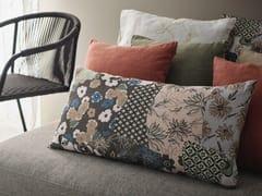Cuscino rettangolare in lino con motivi florealiPATCHWORK FLOREALE   Cuscino - LA FABBRICA DEL LINO BY BERGIANTI & PAGLIANI
