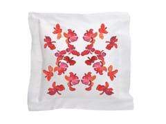 Cuscino quadrato in cotone con motivi florealiBUTTERFLY | Cuscino - SANS TABÙ