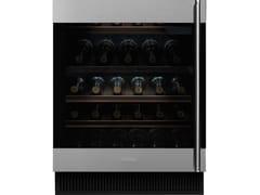 Cantinetta frigo da incasso in acciaio inox e vetro classe GCVI338LX3 - SMEG