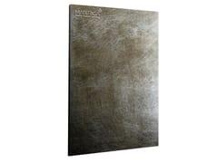 Metallizzazione zinco con texture circolareSuperficie Zinco con texture circolare - MATERICA