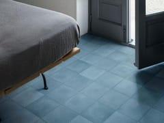 Pavimento in gres porcellanato effetto cementineD_SEGNI BLEND | Azzurro - MARAZZI GROUP