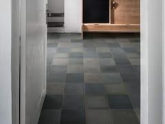 Pavimento in gres porcellanato effetto cementineD_SEGNI BLEND | Carbone - MARAZZI GROUP