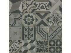 Pavimento in gres porcellanato effetto cementineD_SEGNI BLEND | Decoro Mix Carbone - MARAZZI GROUP