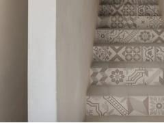 Pavimento in gres porcellanato effetto cementineD_SEGNI BLEND | Decoro Mix Osso - MARAZZI GROUP