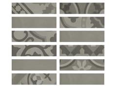 Rivestimento in gres porcellanato effetto cementineD_SEGNI BLEND | Listello Grigio - MARAZZI GROUP
