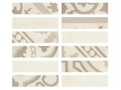 Rivestimento in gres porcellanato effetto cementineD_SEGNI BLEND | Listello Osso - MARAZZI GROUP