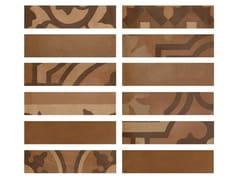 Rivestimento in gres porcellanato effetto cementineD_SEGNI BLEND | Listello Terra - MARAZZI GROUP