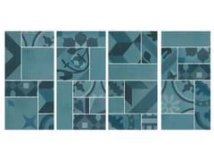 Mosaico in gres porcellanatoD_SEGNI BLEND | Mosaico Azzurro - MARAZZI GROUP