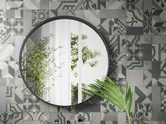 Mosaico in gres porcellanatoD_SEGNI BLEND | Mosaico Carbone - MARAZZI GROUP