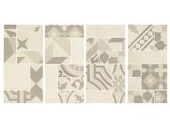 Mosaico in gres porcellanatoD_SEGNI BLEND | Mosaico Osso - MARAZZI GROUP