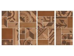 Mosaico in gres porcellanatoD_SEGNI BLEND | Mosaico Terra - MARAZZI GROUP