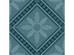 Pavimento in gres porcellanato effetto cementineD_SEGNI BLEND | Tappeto 1 Azzurro - MARAZZI GROUP