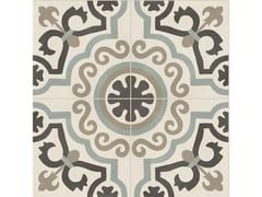 Pavimento in gres porcellanato effetto cementineD_SEGNI BLEND | Tappeto 11 Osso - MARAZZI GROUP