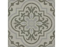 Pavimento in gres porcellanato effetto cementineD_SEGNI BLEND | Tappeto 8 Grigio - MARAZZI GROUP
