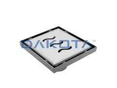 Chiusino e griglia in acciaio Inox con valvola sifonataDAKUA+ WAVE - DAKOTA GROUP