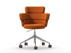 Sedia in tessuto con ruoteDAM XL-HO - ARRMET