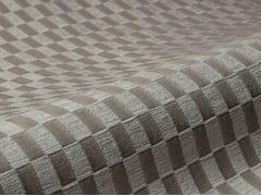 Tessuto da tappezzeria con motivi graficiDAMIER - ALDECO, INTERIOR FABRICS