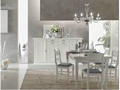 Tavolo laccato in legno massello DAMIGELLA | Tavolo laccato - Damigella