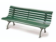 Panchina in legno con schienaleDAPHNE - CALZOLARI