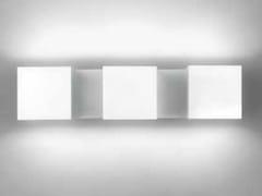 Lampada da parete a LED a luce diretta e indiretta con dimmer DAU LED 6400 - Dau