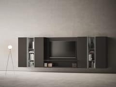 Parete attrezzata componibile con porta tvDAY MOOVE | Composizione M508 - TOMASELLA IND. MOBILI