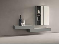 Parete attrezzata componibile fissata a muroDAY MOOVE | Composizione M502 - TOMASELLA IND. MOBILI