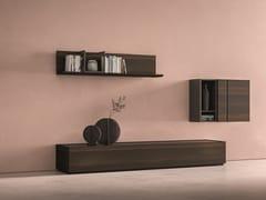 Parete attrezzata componibile in rovereDAY MOOVE | Composizione M503 - TOMASELLA IND. MOBILI