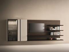 Parete attrezzata componibile in rovere con porta tvDAY MOOVE | Composizione M506 - TOMASELLA IND. MOBILI