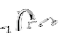 Set vasca a 4 fori con deviatore con doccetta DAYTIME STYLE | Rubinetto per vasca a 4 fori - DAYTIME STYLE