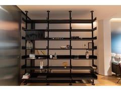 Libreria a giorno bifacciale con fissaggio pavimento-soffittoDE PADOVA - UNIVERSAL SHELVING 606 - ARCHIPRODUCTS.COM