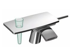 Miscelatore per lavabo da piano in ottone cromato DE SOTO F3651 | Miscelatore per lavabo - De Soto
