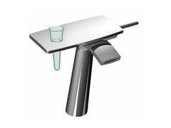 Miscelatore per lavabo da piano in ottone cromato DE SOTO F3661 | Miscelatore per lavabo - De Soto