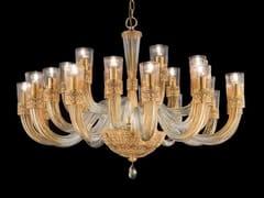 Lampadario in cristallo con cristalli Swarovski® DEA L12+6+6 - Dea