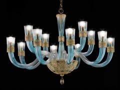 Lampadario in cristallo con cristalli Swarovski® DEA L8+4 - Dea