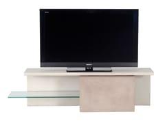 Mobile TV basso in MDF con sistema passacaviDECALO | Mobile TV - ROCHE BOBOIS