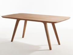 Tavolo rettangolare in legnoDECANTER | Tavolo rettangolare - PASSONI