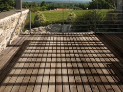 Decking in Adaxite LISTOTECH TEAK -