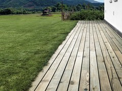 Decking in Adaxite LISTOTECH PINO VERDE -