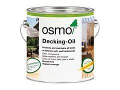 Olio per decking DECKING-OILS - OSMO HOLZ UND COLOR