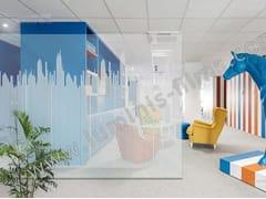 Pellicola per vetri adesiva decorativa DECO-532i - Pellicole per vetri decorative
