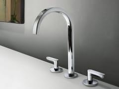 Rubinetto per lavabo a 3 fori da piano DECO ICONA | Rubinetto per lavabo da piano - Icona