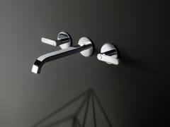 Rubinetto per lavabo a 3 fori a muro DECO ICONA | Rubinetto per lavabo a muro - Icona
