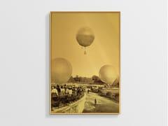 Stampa ad alta qualità fotografica su lastra AllurexDECOLLO DEL PALLONE NCD-AG-S010 - SPAZIO 81