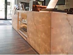 Banco reception per ufficio in DecoPietra© DECOPIETRA© | Banco reception per ufficio - DecoPietra©