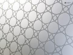 Rivestimento in vetro decorato DECORFLOU® DESIGN MESH -