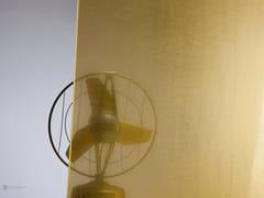 Parete mobile in vetro per ufficio DECORFLOU® GOLD -
