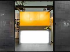 Rivestimento per mobili in vetro DECORFLOU® GOLD -