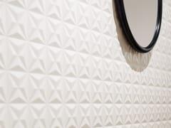 CERAMICA SANT'AGOSTINO, DECORLINE CITY WHITE Rivestimento tridimensionale in ceramica a pasta bianca